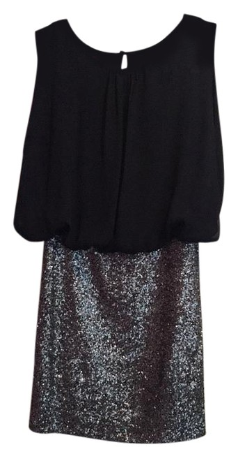 Preload https://img-static.tradesy.com/item/16469329/548-navy-and-silver-above-knee-night-out-dress-size-0-xs-0-1-650-650.jpg