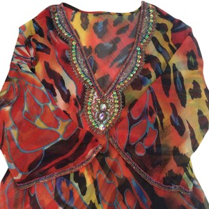 Other Beading 100%polyester Tunic