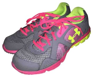 Under Armour Pink, yellow, gray Athletic
