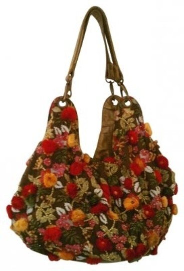 Preload https://img-static.tradesy.com/item/164706/mary-frances-one-of-a-kind-custom-multi-colored-hand-embroidered-shoulder-bag-0-0-540-540.jpg