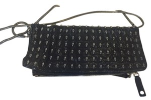 Thomas Wylde Leather black Clutch