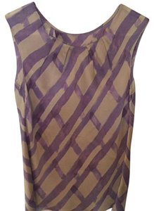 Banana Republic Sleeveless Top Purple