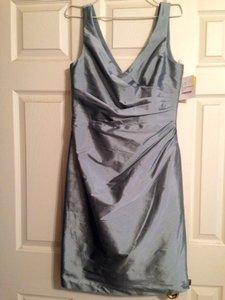 Steel Blue D644 Dress