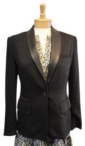 Elizabeth and James One Button Black Blazer