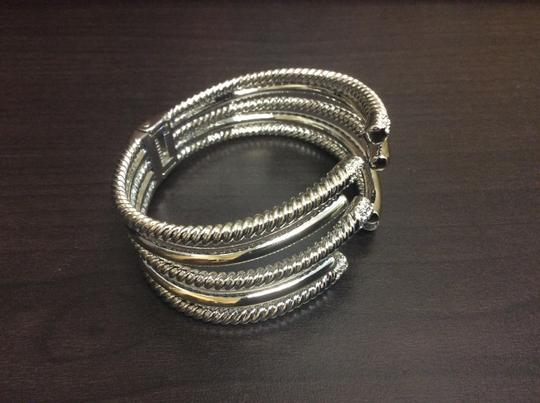 Other Willow Open 5 Branch Twist Two Tone Crossover Bracelet