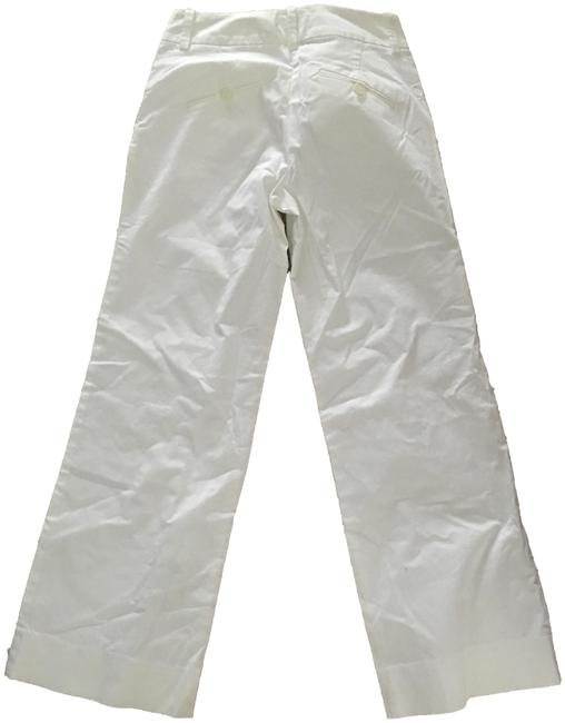 Item - White Straight Pants Size 0 (XS, 25)