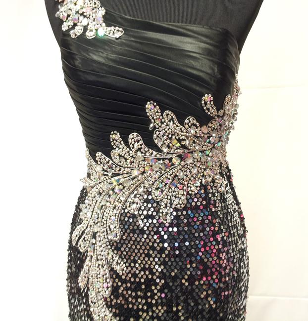 Mary's Bridal Kiss Kiss Formal Sequin Sexy Sexy Sparkle Pageant Leg Slit Dress