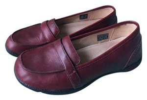 Keen Leather Burgundy Flats