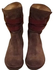 Frye Bootie Suede Olive Green Boots