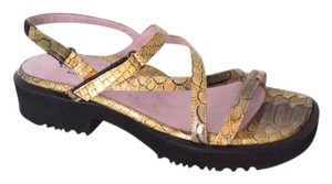 Taryn Rose Snakeskin New Without Box Sandals