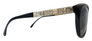 Chanel Chanel Black and Crystal Polarized Sunglasses. 5309-B C501/S8