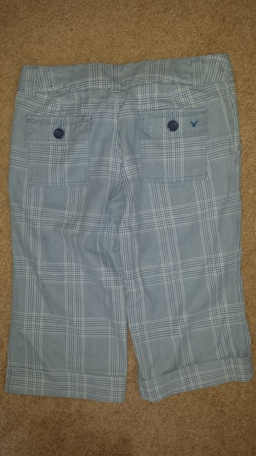 American Eagle Outfitters Capris light blue