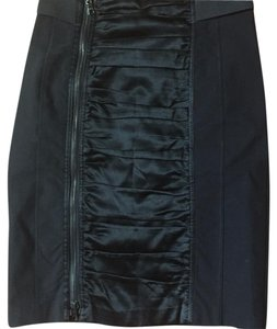 Nanette Lepore Tufted Skirt Black