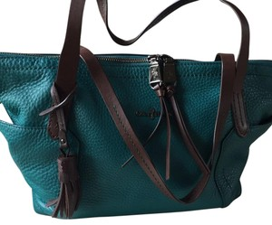 Cole Haan Satchel in Turquoise Green