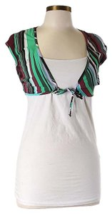 Emilio Pucci Striped Shrug Top