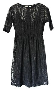 Forever 21 Lbd Lace Mini Dress