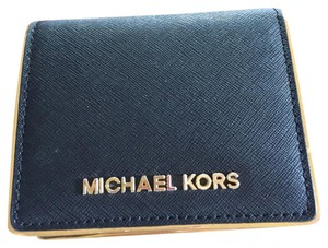 Michael Kors black and gold