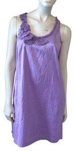 Calypso short dress Lavender on Tradesy