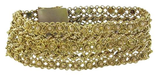 Preload https://img-static.tradesy.com/item/16473817/gold-14k-solid-yellow-wide-mesh-345-cable-chain-bollywood-bracelet-0-1-540-540.jpg