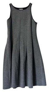 SHADES OF GREY BY MICAH COHEN Scuba Designer Dress
