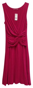 Velvet by Graham & Spencer short dress shireen-scarlet Fuschia Knee Length on Tradesy