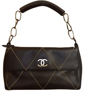 618d7222de8e Chanel And Leather Basket Tan Rattan Shoulder Bag - Tradesy