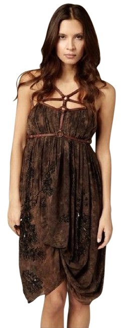 Preload https://img-static.tradesy.com/item/16474711/allsaints-black-and-brown-malu-knee-length-cocktail-dress-size-6-s-0-1-650-650.jpg