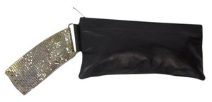 Georgie Alexander Mesh Clutch Leather Evening Wristlet