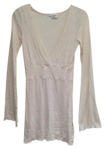 Michael Stars short dress Sparkly Cream Bell Bottom Sleeves on Tradesy