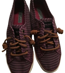 Sperry Purple stripes. Athletic