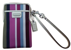 Coach Wristlet in Multi-colored