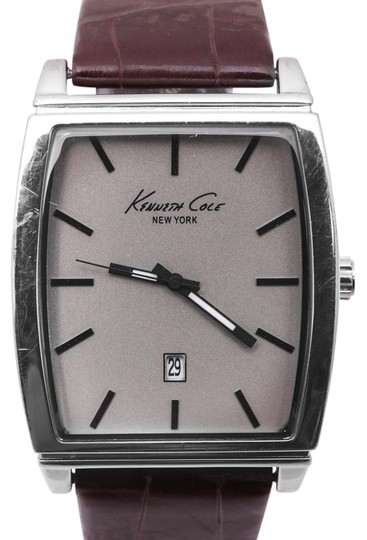 Preload https://img-static.tradesy.com/item/16475137/kenneth-cole-silverbrown-kcw1025-53mm-watch-0-1-540-540.jpg