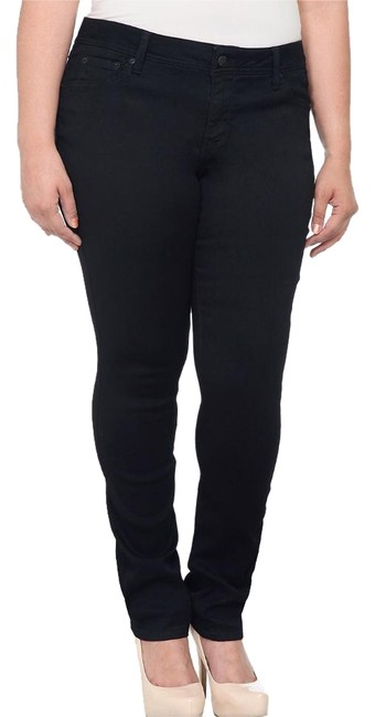 Item - Black Dark Rinse Skinny Jeans Size 20 (Plus 1x)