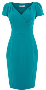 Karen Millen Turquoise Blue Dress