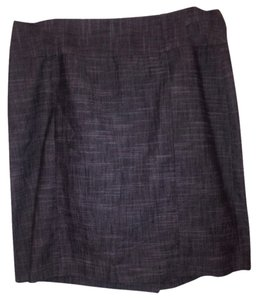 Larry Levine Skirt Gray