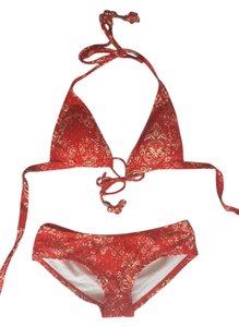 Banana Republic Red banana bikini