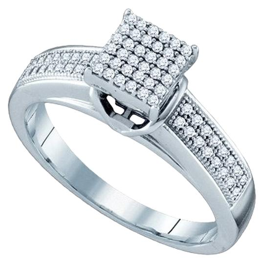 Preload https://item1.tradesy.com/images/white-gold-diamond-briang-10k-025-cttw-ladies-micro-pave-luxury-fashion-ring-1647610-0-0.jpg?width=440&height=440
