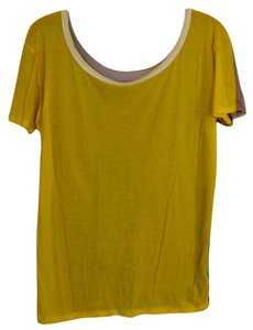 Loomstate Three-in-one Soft Fabric T Shirt Yellow, Beige, & Green
