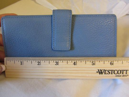 Other Slim Sexy Blue Leather Wallet