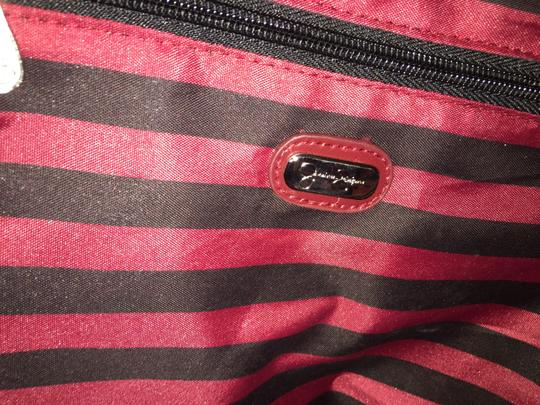 Jessica Simpson Fabric Tote in Red