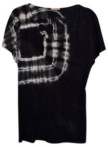 C&C California T Shirt Black & White Tie Dye