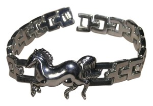 Other Stainless Steel Horse Link Bracelet Free Shipping