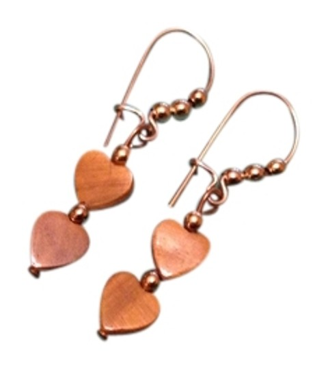 Other Vintage heart earrings