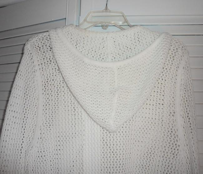 Draper's and Damon's Top Ivory with crystals on the zipper