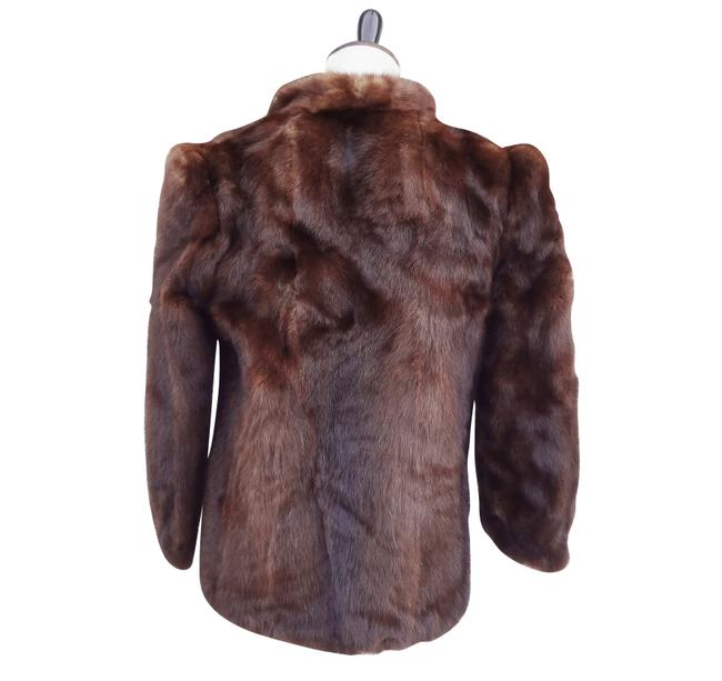 Lloyd's of Denver Christian Dior 1980s Postmodern Re-styled Fur Coat