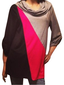 Style & Co Block Turtle Mock Warm Tunic