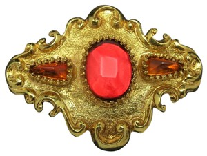 Christian Lacroix Christian Lacroix PIN Big Red GOld