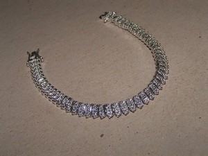 Genuine Diamond Accent Tennis Bracelet Free Shipping