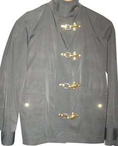 Ralph Lauren Fireman's Jacket Brass Brass Hardware Rain Raincoat