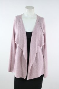 Eileen Fisher Pink Linen Cotton Cardigan Sweater